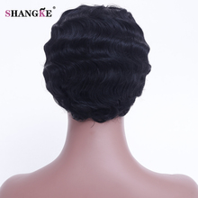 Short Curly Synthetic Wig Heat Resistant