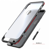 Original LUPHIE For IPhone X Case Luxury CNC Double Color Metal Bumper Thin Matte PC Plastic