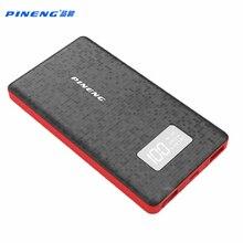 Оригинал PINENG 6000 мАч Power Bank PN 960 Портативное Зарядное Мобильный Литий-Полимерный Power Bank со СВЕТОДИОДНЫМ Индикатором для iphone6s МИ