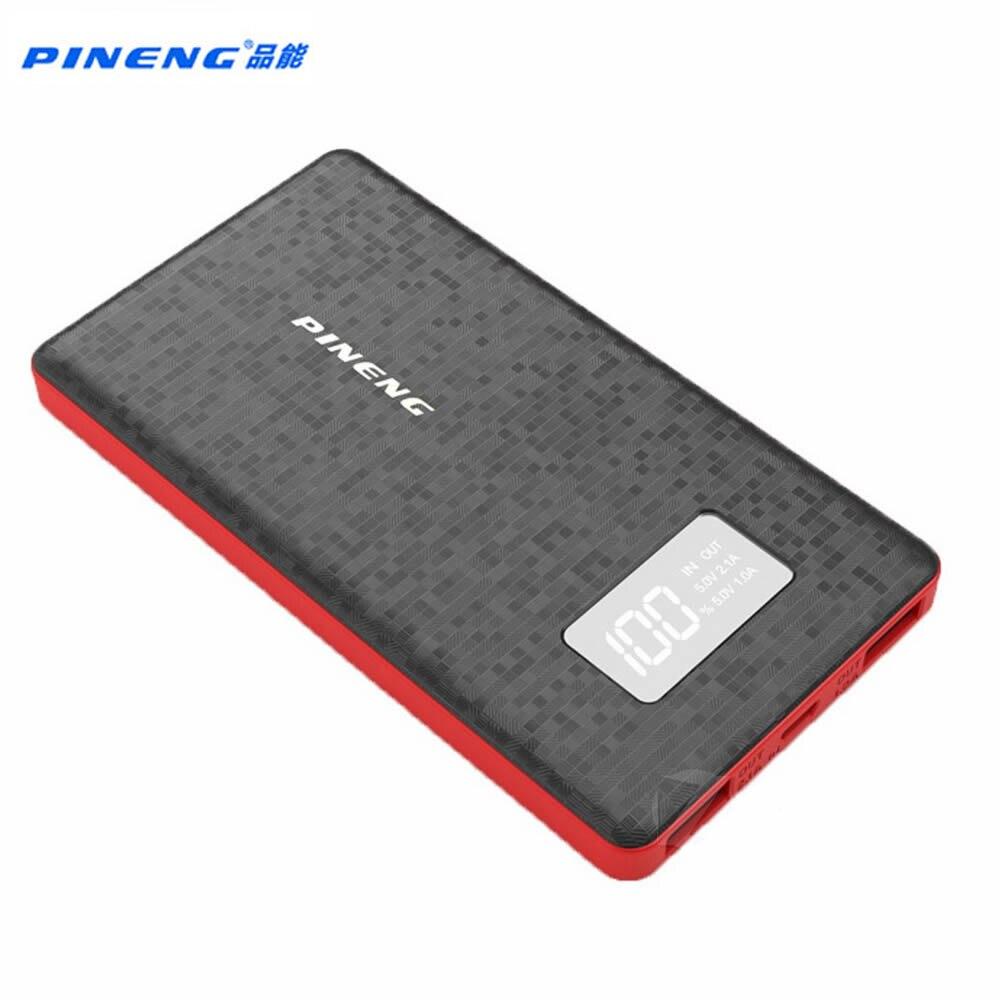 imágenes para Original PINENG PN 960 Banco Portable 6000 mah Banco de la Energía Banco de la Energía Móvil de La Batería de Li-Polímero con Indicador LED para iphone6s MI