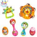 1 pc do bebê orff sineta crianças shaker shakers maracas de plástico chocalho crianças educacionais toys festa maraca brinquedo instrumento musical