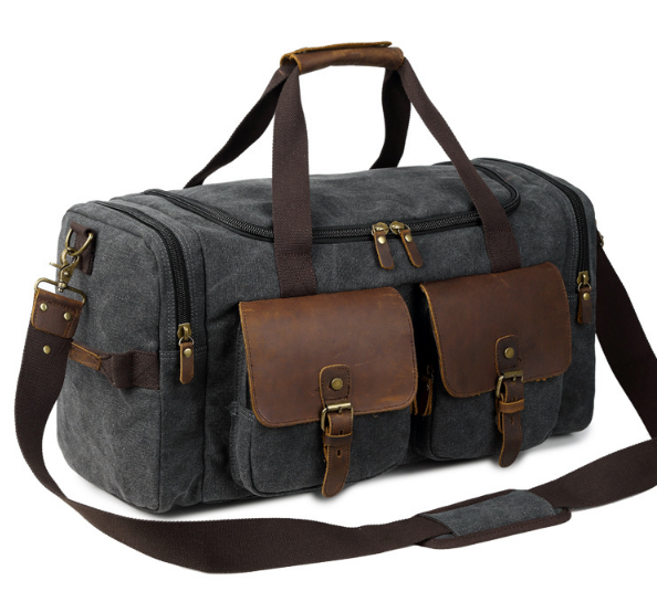 New Fashion Multifunctional Male Travel Bag Casual Large Capacity Shoulder Bag Portable Wearproof Duffle bagC251