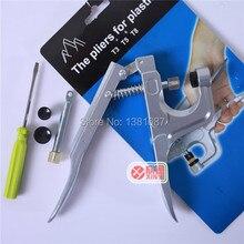 T3/T5/T8 пластиковые защелки монтажные инструменты в сочетании с кнопкой зажимные плоскогубцы ручной напорный станок