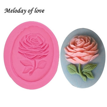 1Pcs DIY Rose Flower Silicone Mold,Sugarcraft Cake Decorating Tools,Fondant Chocolate Molds Cake Mould Soap baking tray T1262 ttlife 3d daisy flower shape silicone mold pastry cupcake chocolate soap bakeware mould fondant cake sugarcraft decoration tools