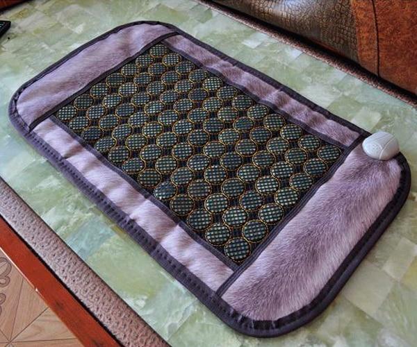 2016 Jade Infrared Heating Pad Massage Cushion Warm 47*86CM