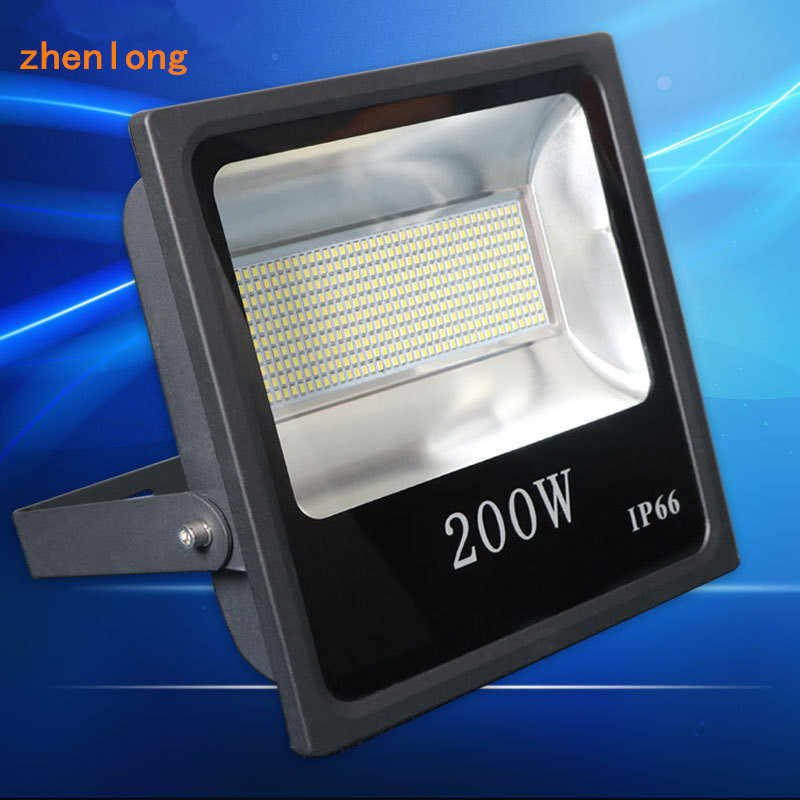 Hot 10W 20W 30W 50W 100W 200W Outdoor LED Floodlight Waterproof IP65 Floodlighting Garden Street Flood Light Led Projector Lamp