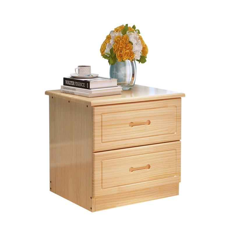 bedside Wooden bedroom cabinet Simple and modern mini lockers Economical storage cabinets Wood color fengze furnishing fz115 wooden nightstand simple country style bedroom mini storage small bedside cabinet solid wood in oak