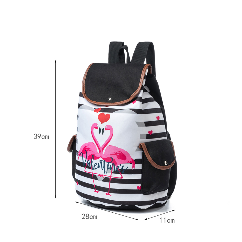 RUNNINGTIGER 3D Unicorn Printed Women Backpack Casual School Bags For Teenagers  Canvas Girl School Backpacks Rucksack Female-in Backpacks from Luggage ... a5df776bea968