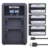 3X2600 mAh NP-F550 NP-F330 NP-F530 NP-F570 NP-F730 NP-F750 Batterie + LED USB Dual Ladegerät für Sony CCD-SC55 CCD-TRV81 MVC-FD81