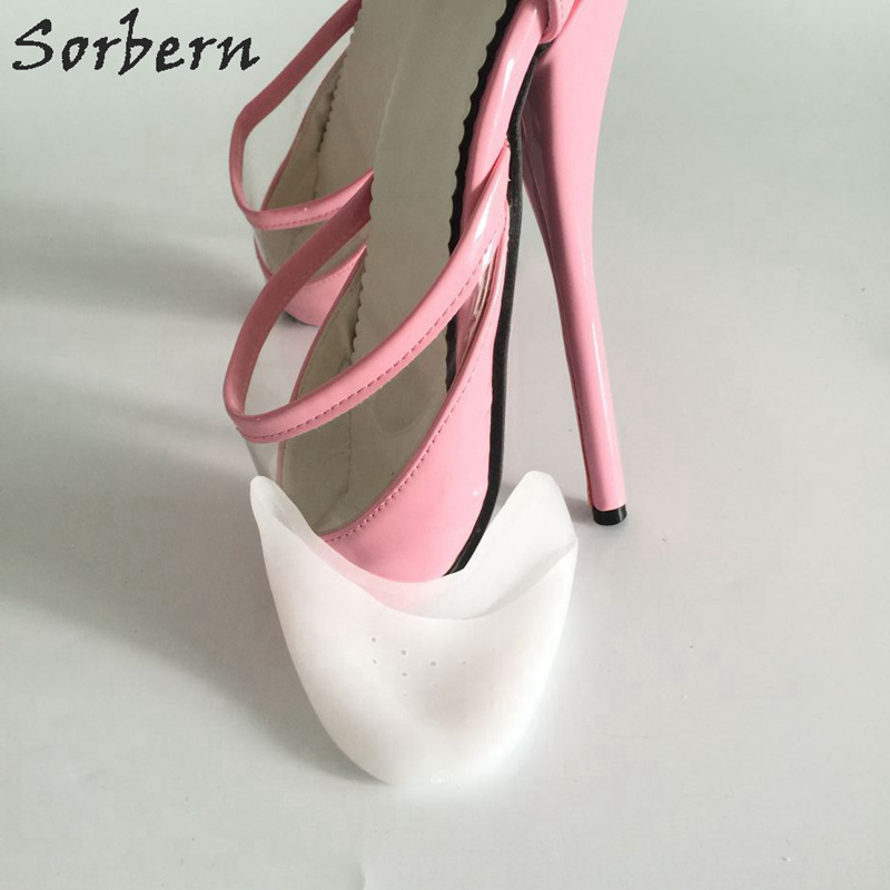 Sorbern High Heel Gel Ballet Toe Pad Bunion Protector Eases Callus Foot Care Tool Soft Pointe Pad for Ballet Shoes Insole sorbern high heel gel ballet toe pad bunion protector eases callus foot care tool soft pointe pad for ballet shoes insole