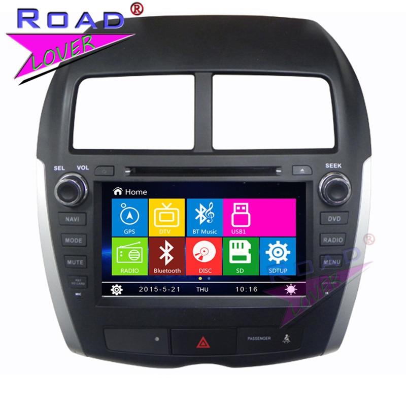 TOPNAVI Wince 6 0 Two Din 8Inch Car Multimedia DVD Player For Mitsubishi ASX 2010 2011