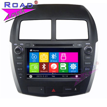 TOPNAVI Wince 6.0 Two Din 8Inch Car Multimedia DVD Player For Mitsubishi ASX 2010 2011 2012 Stereo GPS Navigation Auto Audio BT