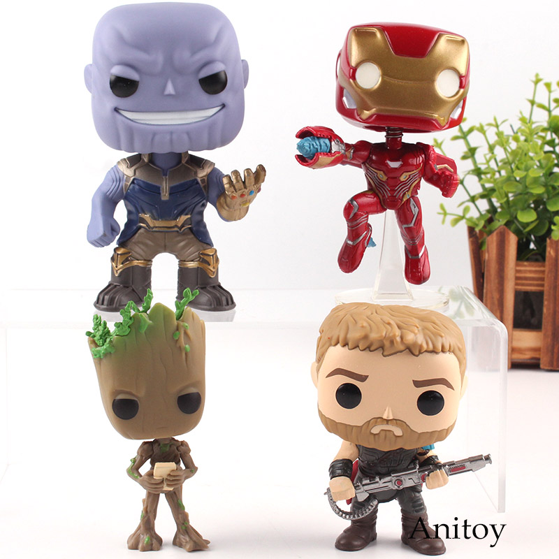 font-b-marvel-b-font-avengers-infinity-war-super-heroes-iron-man-thanos-thor-tree-man-bobble-head-figure-pvc-collection-toy-with-retail-box