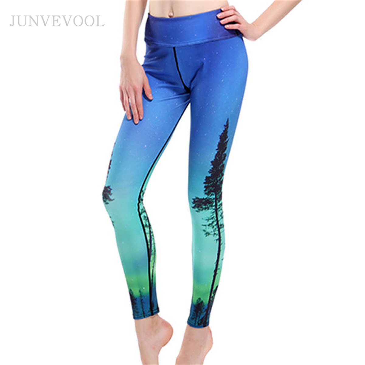 59dfed0af53ca Novelty 3D Printed Workout Pant Women Leggings Galaxy Sexy Trees Printing  Sexy Cropped Rock Funky Capris Punk Hot Legins-in Leggings from Women's  Clothing ...