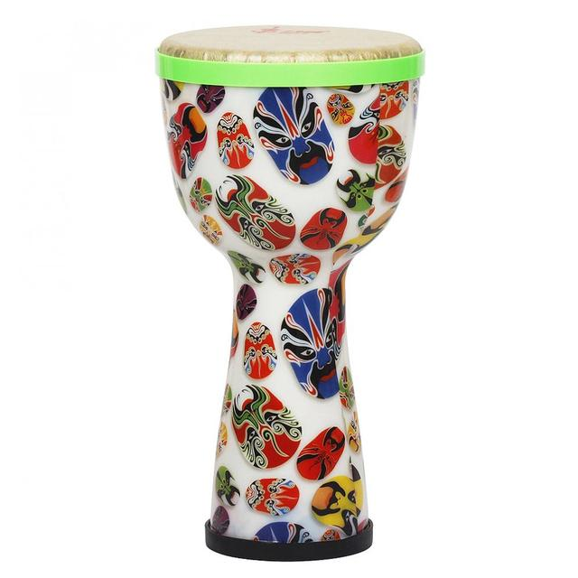 Lightweight African Drum with Shaker