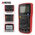 Инструмент ANENG AN860B + тестер Цифровой мультиметр профессиональный детектор 6000 отсчетов тестер пиковый мультиметровый измеритель аналого esr ...