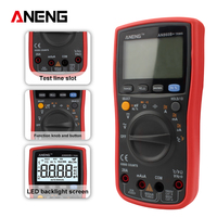 Tool ANENG AN860B+ Tester Digital Multimeter Profesional 6000 Counts Detector Tester Peak Multimetro Meter analogico esr Lcr