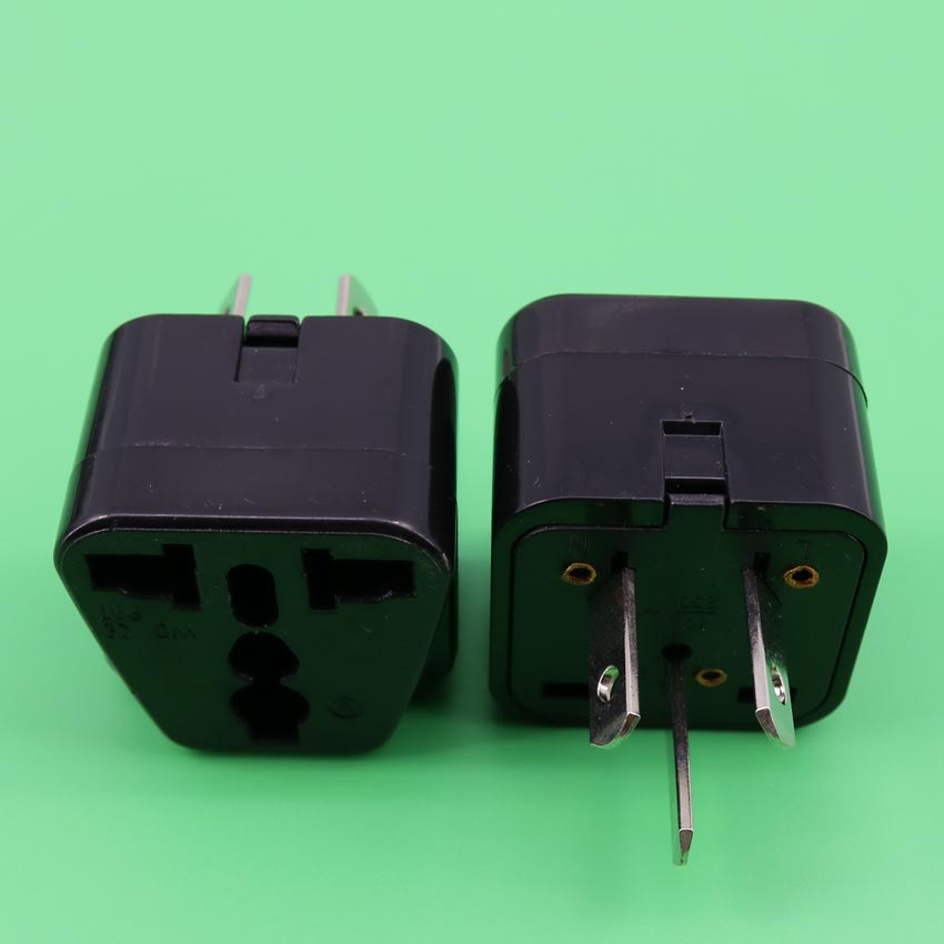 YuXi Universal travel 10A 250V ABS material New for  Zealand south africa india to us thailand plug adaptor poverty migration and aids in south india