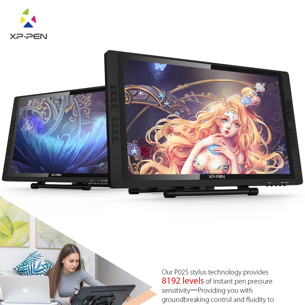 Drawing monitor  tablet 22EPro XP Pen 1 (1)