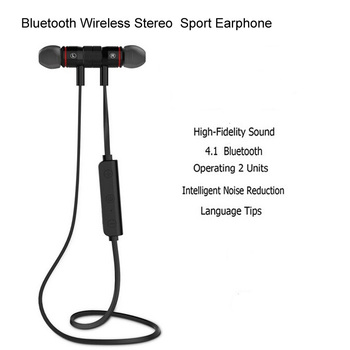 Jiaoyabuy M9 Bluetooth Headphones Wireless In-Ear Noise Reduction earphone with Microphone Sweatproof Stereo Bluetooth Headset
