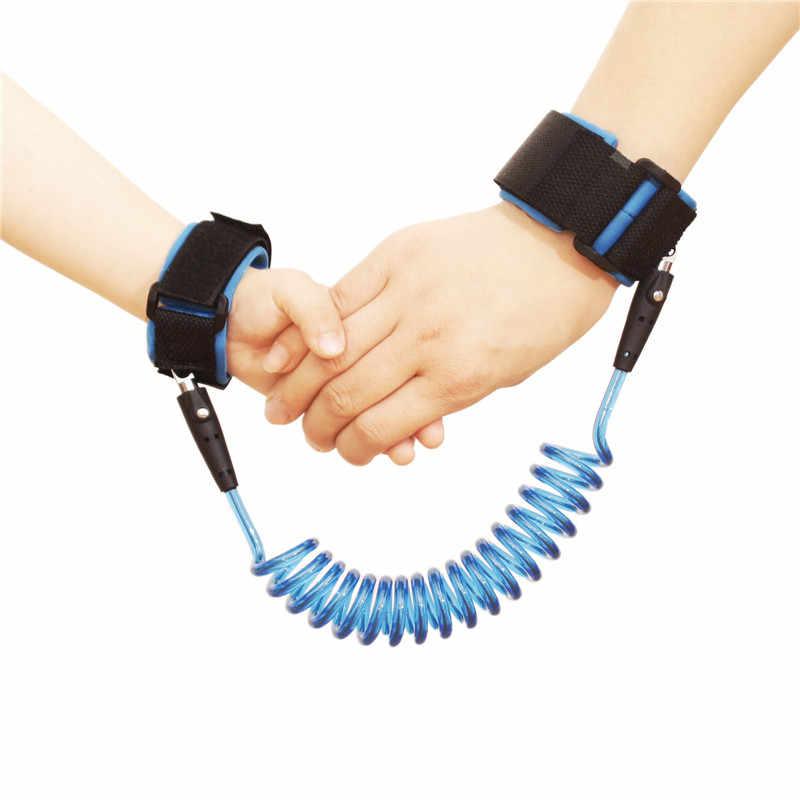 Azul Correa de mu/ñeca antip/érdida para ni/ño 2M Baby Kids Anti Correa de mu/ñeca perdida con bloqueo de teclas de seguridad para ni/ños peque/ños Arnes de pulsera