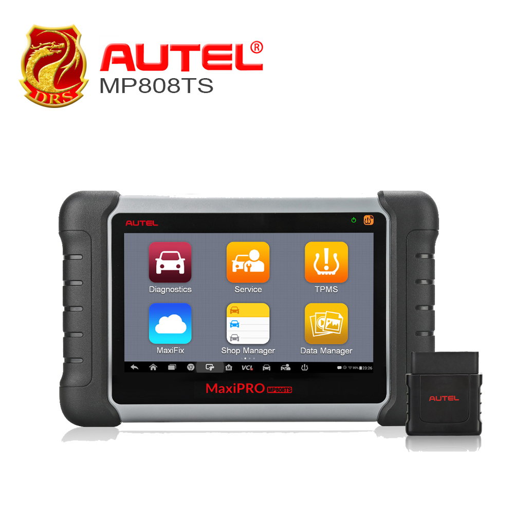 Autel OBD2 Scanner MaxiPRO MP808TS Diagnostic Tool Complete TPMS Service and Diagnostic Functions with WIFI and Bluetooth
