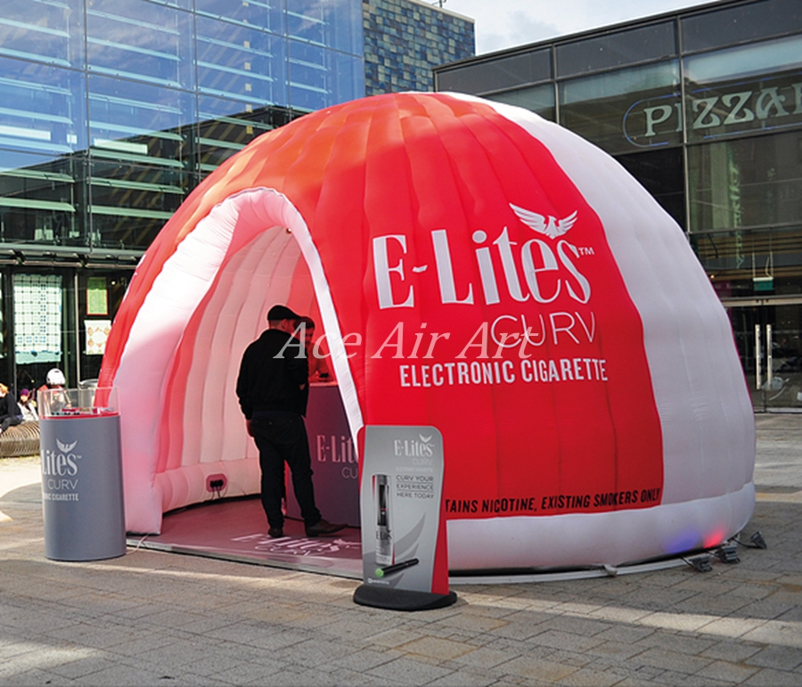 Outdoor Trade Show Portable Inflatable Dome Shaped Tent / inflatable air dome for Sale Advertising