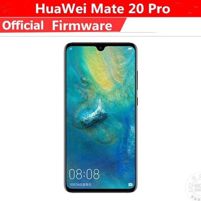 """Быстрая доставка DHL HuaWei Коврики 20 Pro 4G LTE сотовый телефон Kirin 980 Android 9,0 6,39 """"3120×1440 8 ГБ Оперативная память 256 ГБ Встроенная память 40.0MP IP68 NFC"""