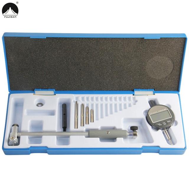 FUJISAN Dial Bore Gauge 50-160mm/0.01mm Digital Indicator Center Ring Dial Indicator Micrometer Gauges Measuring Tools