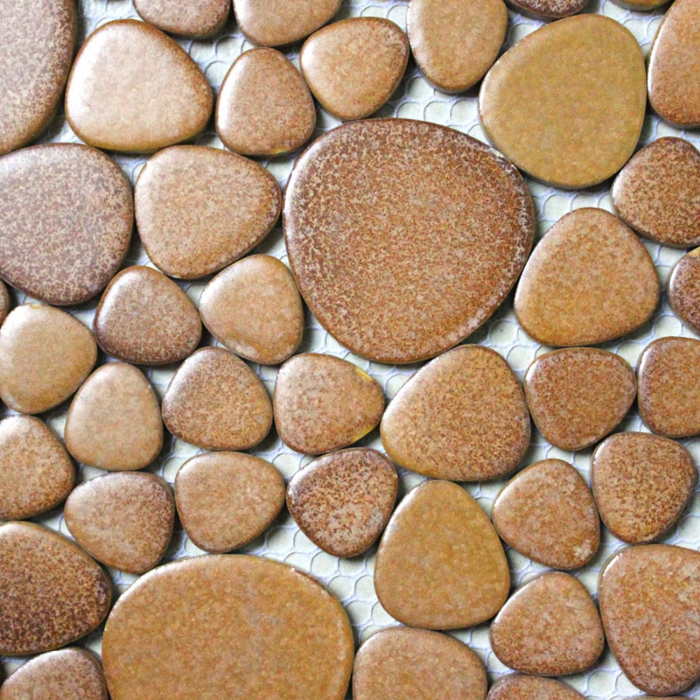 khaki porcelain tile pebble mosaic kitchen backsplash wallpaper bathroom swimming pool wall tiles shower garden balcony tile