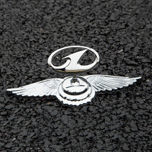 Car Front Chrome Emblem For Besturn FAW T77 X40 B50 X80 B70 B30 B90 Automobile Metal 3D Sticker Bonnet Badge Exterior Decoration