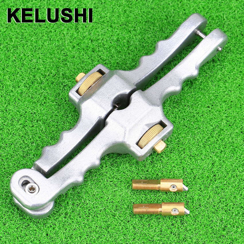 KELUSHI Longitudinal Opening font b Knife b font Longitudinal Sheath Cable Slitter Fiber Optical Cable Stripper