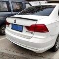 Для Volkswagen Santana 2016 2017 2018 ABS пластик грунтовка цветное автомобильное украшение в виде хвостового крыла задний багажник спойлер автомобильный ...