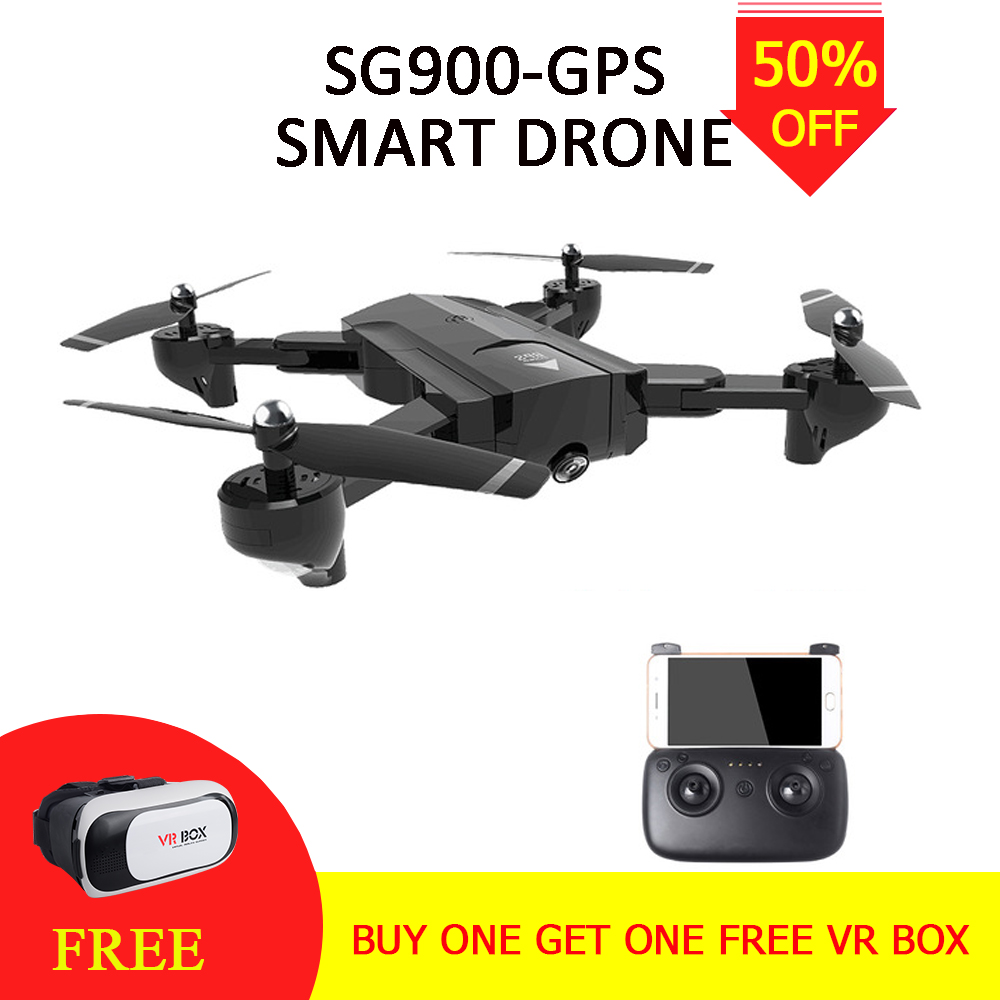 SG900S Foldable Quadcopter 2.4GHz 1080P HD Drone Quadcopter WiFi FPV Drones GPS Fixed Point Helicopter Drone with Camera VS S20 original gdu o2 drones fpv foldable quadcopter with 4k hd camera gps