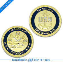 Custom Vintage  Metal military Coin high quality custom made gold and silver coins