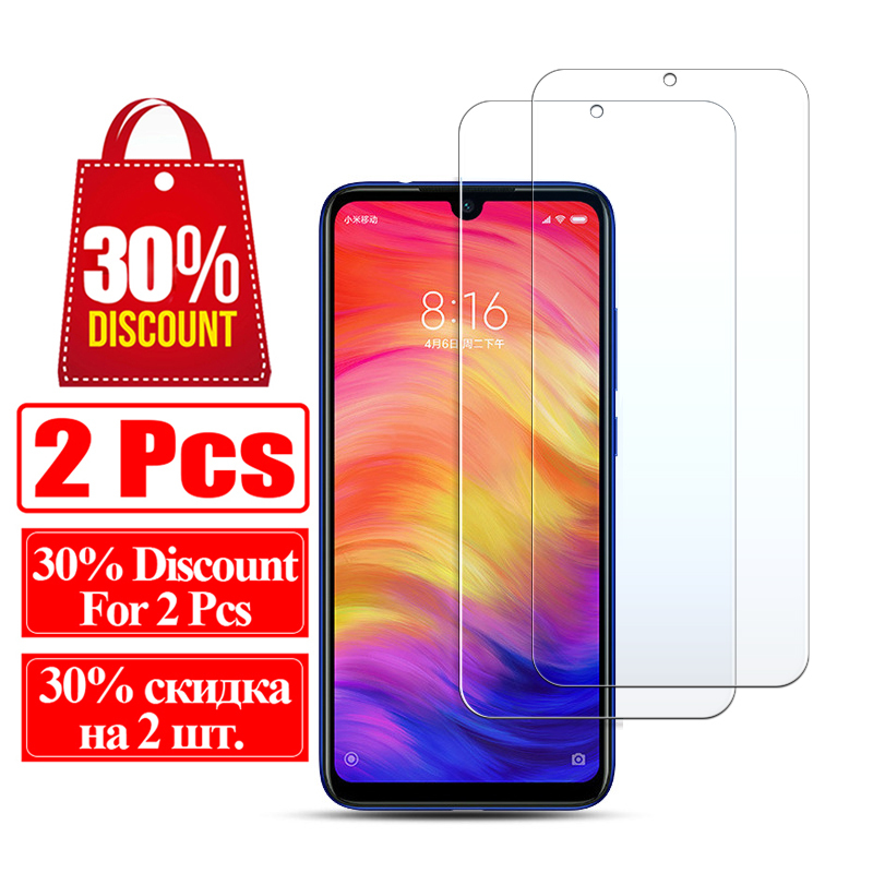 Image 2 - Glass Protective On For Xiaomi Redmi Note 7 6 5 Pro 4 Tempered Glas Note7 Note5 Note4 Ksiomi Xiaomei Xiomi Screen Protector Film-in Phone Screen Protectors from Cellphones & Telecommunications