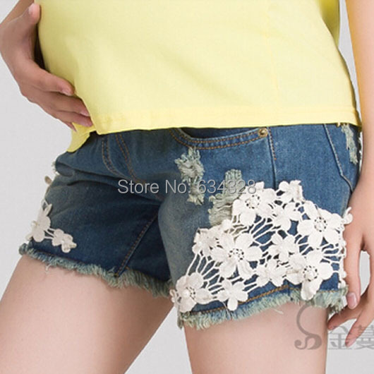 Jeans Maternity Denim Short Summer Shorts For Pregnant Women Gravidas Clothing Pregnant Clothes