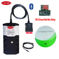 New relay 9.0 board Bluetooth for delphis vd ds150e cdp pro with 2018 Newest 2016.R0/2015R3 keygen car truck diagnostic tool.