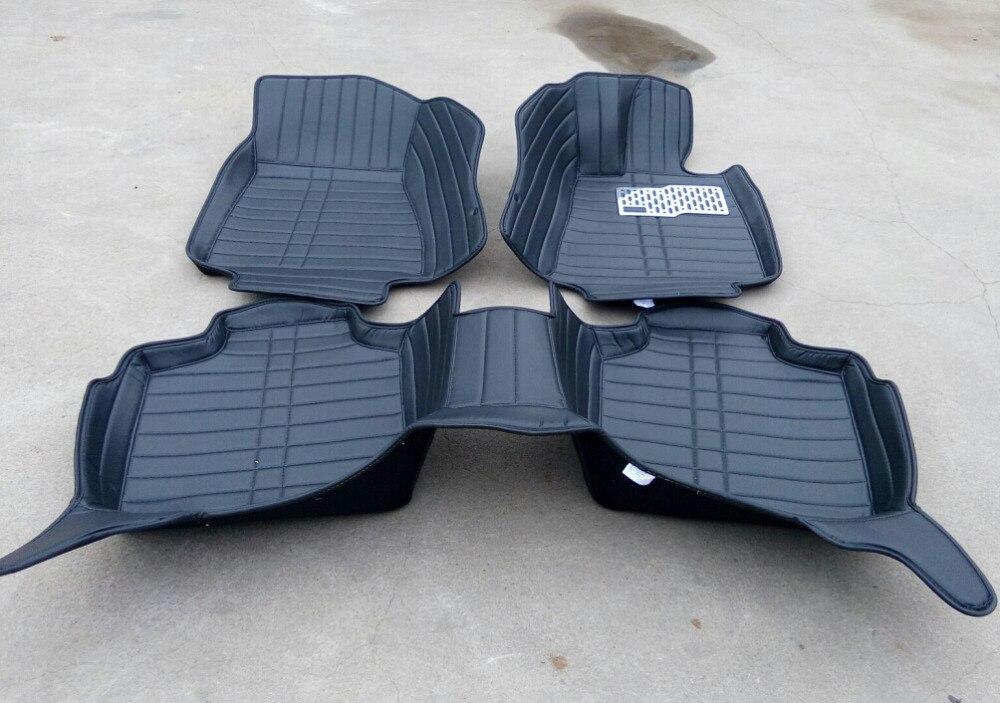 Haute qualité! Tapis de sol spéciaux personnalisés pour conduite à droite BMW X3 F25 2017-2011 tapis imperméables pour X3 2015, livraison gratuite