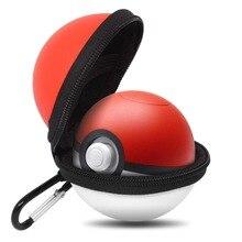 Estojo de transporte para poke ball plus, capa protetora, portátil, resistente, para viagem, nintendo switch
