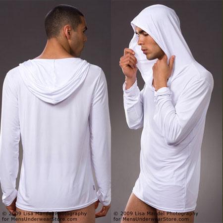 4 couleurs sexy hommes de yoga tops pyjamas hommes sommeil vêtements  homewear de nuit robes accueil pyjamas peignoir dans Chemises de yoga de  Sports et