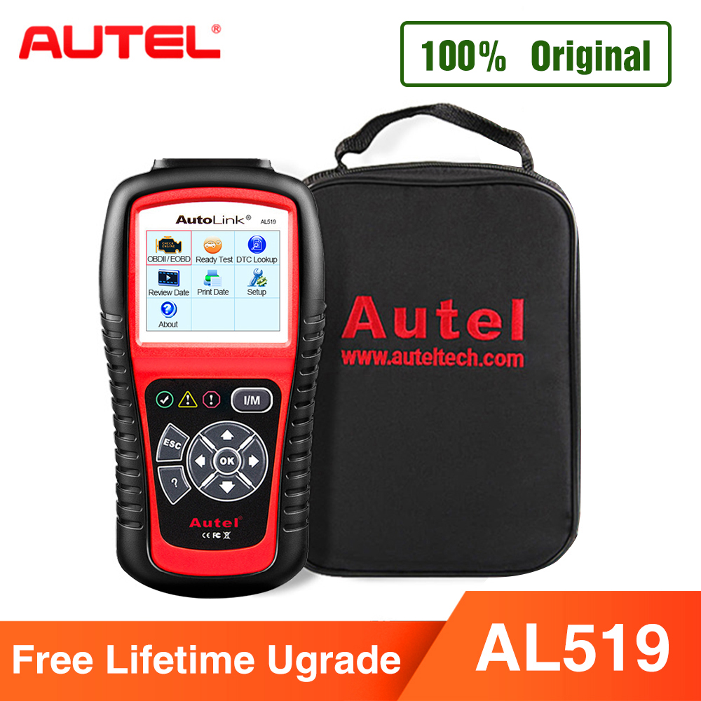 Autel AutoLink AL519 Diagnostic Tool OBD2 Scanner Code Reader Scanner Automotriz Automotivo Scanner Car Diagnostic