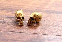 DIY Skull Umbrella Pendant Beads Brass Knife Cendant Rope Copper Fall Outdoors EDC