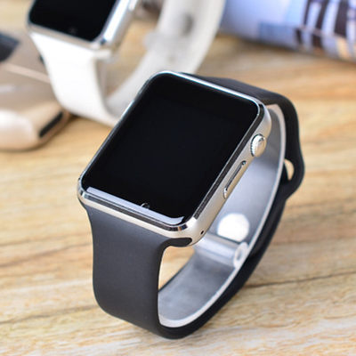imágenes para SISTEMA OPERATIVO Android A1 Reloj teléfono Inteligente apoyo TF tarjeta SIM bluetooth MP3 U8 smartwatch para apple ios android os pk DZ09 GT08 DZ11 W8