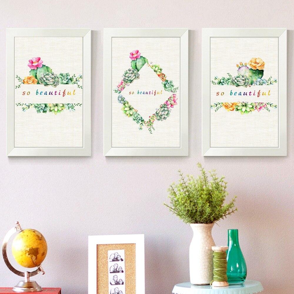 Nortic Kolorowe Kwiaty Plakat I Druku Sztuki Plakaty Wall