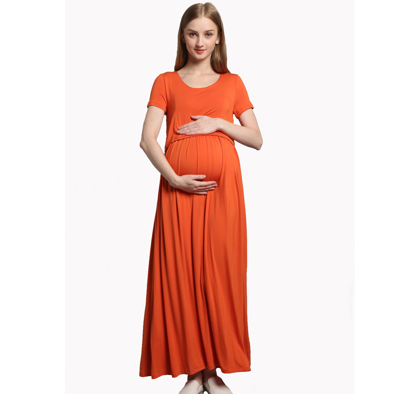 Summer New Style Maternity Dress for Pregnant Women Short Sleeve Nursing Maxi Pregnancy Dresses Clothes Breastfeeding VestidosSummer New Style Maternity Dress for Pregnant Women Short Sleeve Nursing Maxi Pregnancy Dresses Clothes Breastfeeding Vestidos