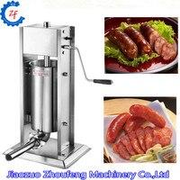 Manual sausage stuffer stainless steel sausage filling machine sausage syringe meat filler sausage maker