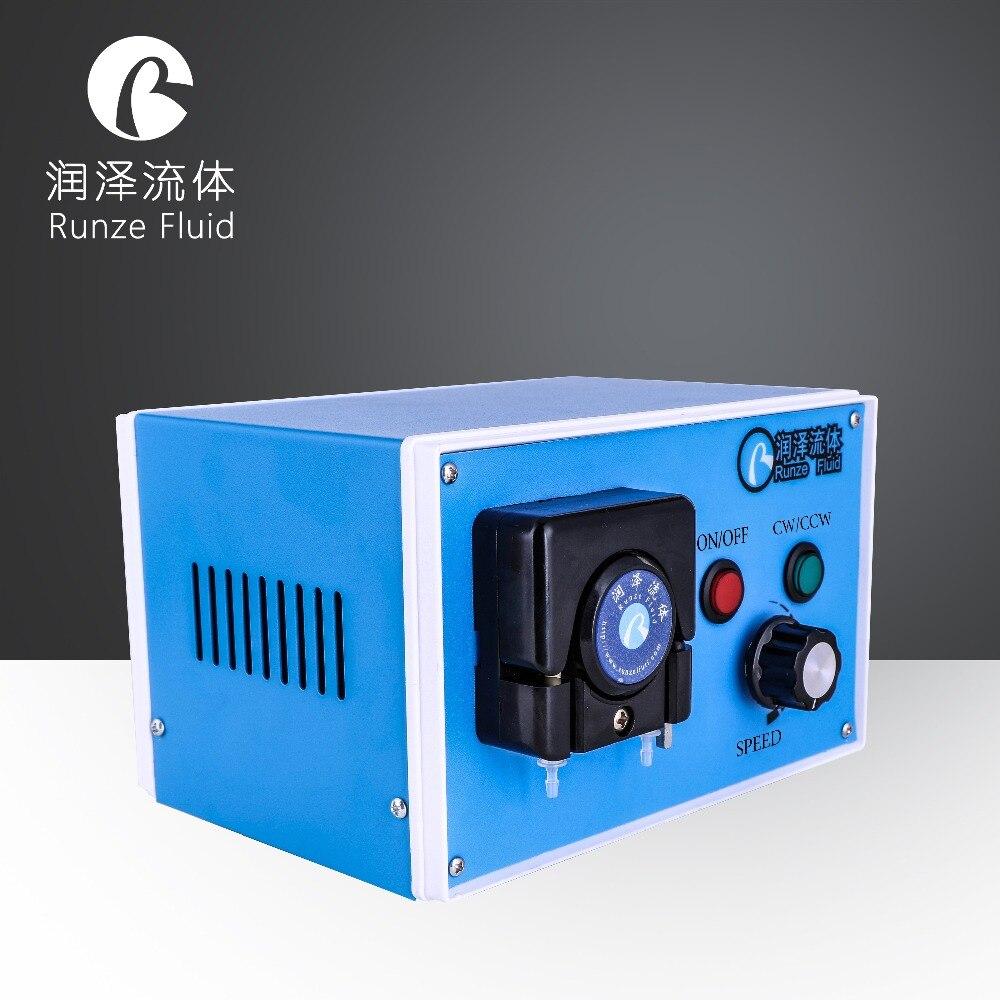 Automatic Microfluidic Speed Variable Peristaltic Pump