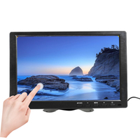 10.1 Inch 1280x800 LCD Touch Mini Computer Display LED Screen 2Channel Video Input Security Monitor with Speaker VGA HDMI