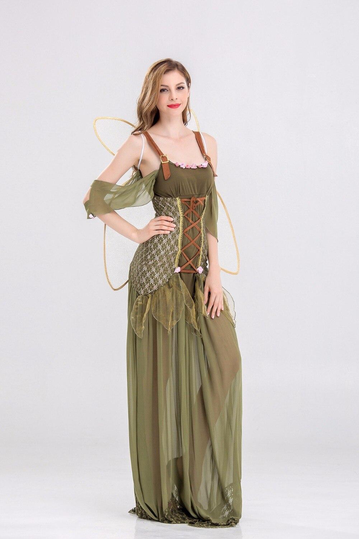 Fee Kostuum Dames.Us 27 89 10 Off Rose Fee Prinses Kostuum Fee Prinses Kostuum Dames Halloween Gothic Bloem Fee Cosplay Kostuum In Rose Fee Prinses Kostuum Fee